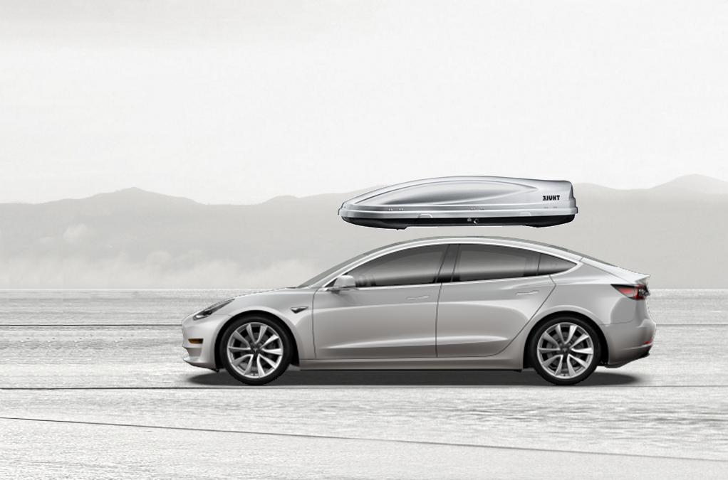 Tesla Model 3 Rooftop Cargo Box