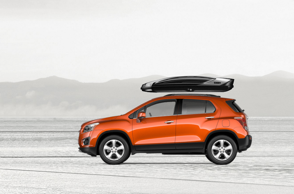 Chevrolet Trax Rooftop Cargo Box
