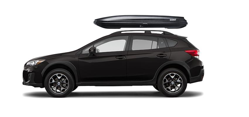 Subaru Crosstrek Rooftop Cargo Box