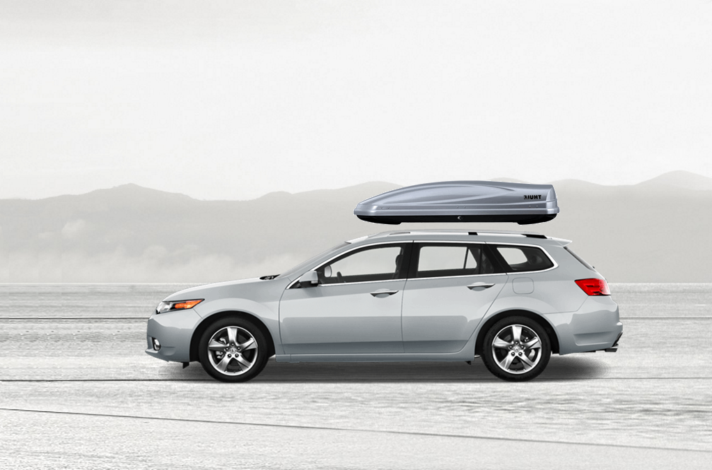 Acura TSX Rooftop Cargo Box - Acura tsx roof rack