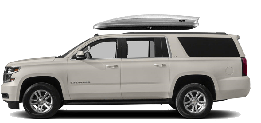 Chevrolet Suburban Rooftop Cargo Box