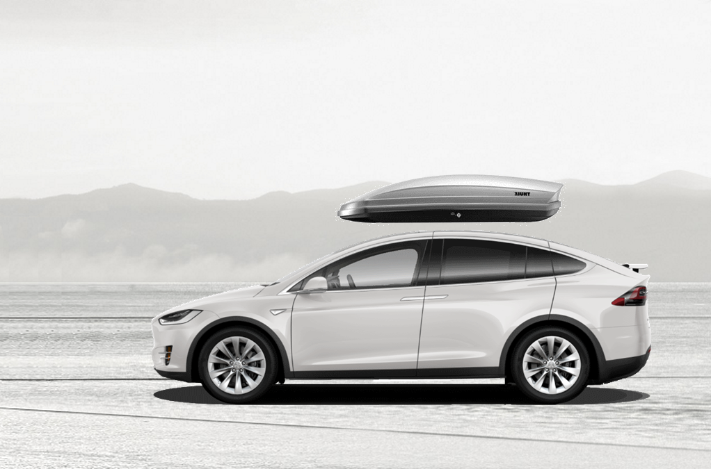 Tesla Model X Roof Cargo Box