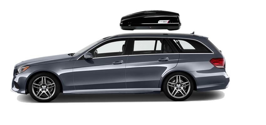 Mercedes benz e break roof box for Mercedes benz roof box 400
