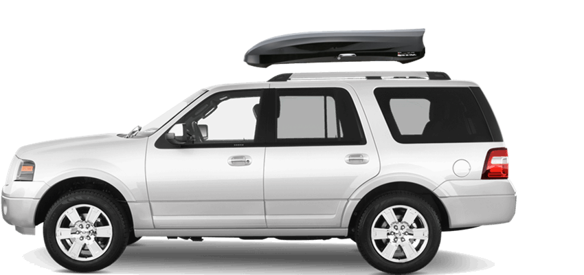 Capacity  Cubic Feet Length  Cms Width Cms Height   Cms Inno Wedge  On Ford Expedition