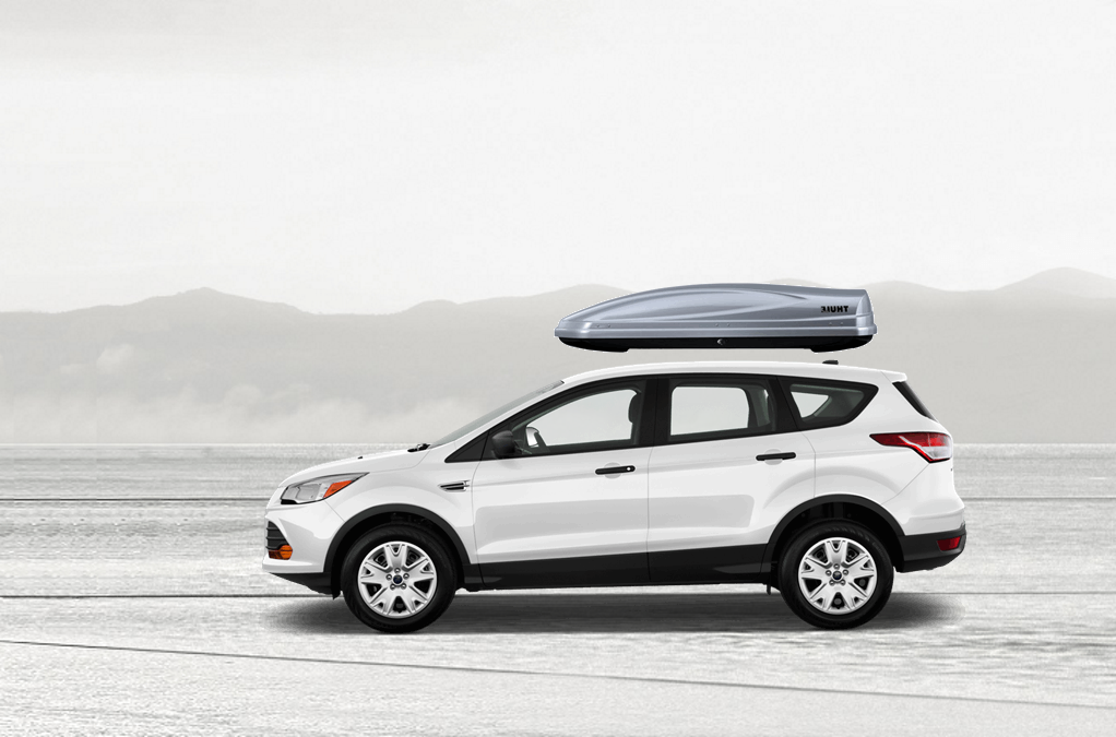 Ford Escape Rooftop Cargo Box