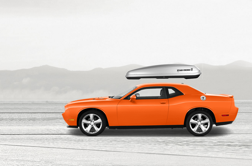 Dodge Challenger Roof Cargo Box
