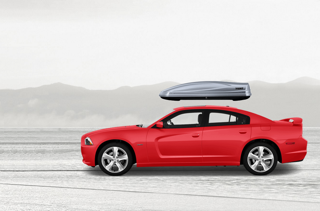 Dodge Charger Rooftop Cargo Box