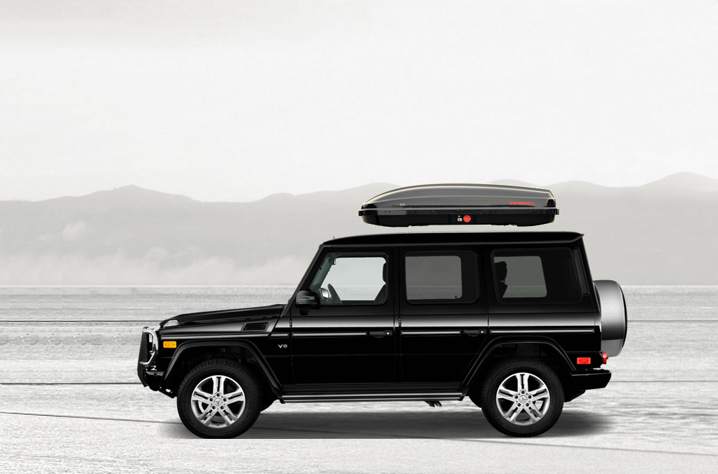 Mercedes g roof box for Mercedes benz roof box 450 dimensions