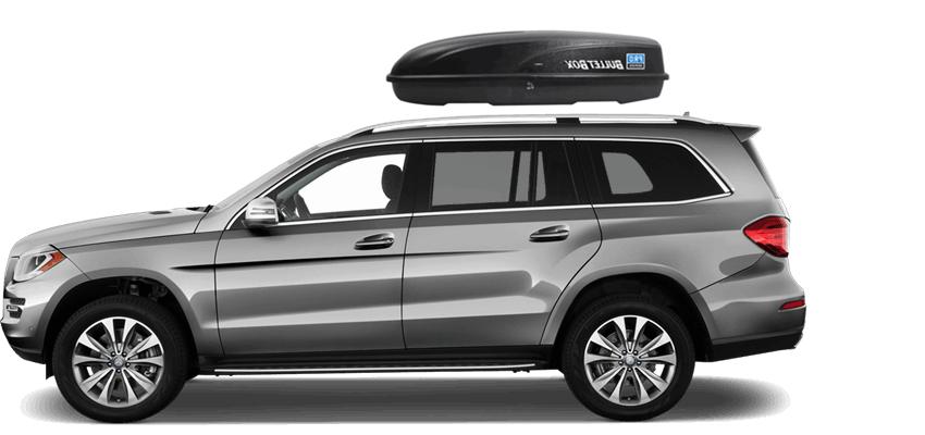 Mercedes gl rooftop cargo box for Mercedes benz gl450 ski rack