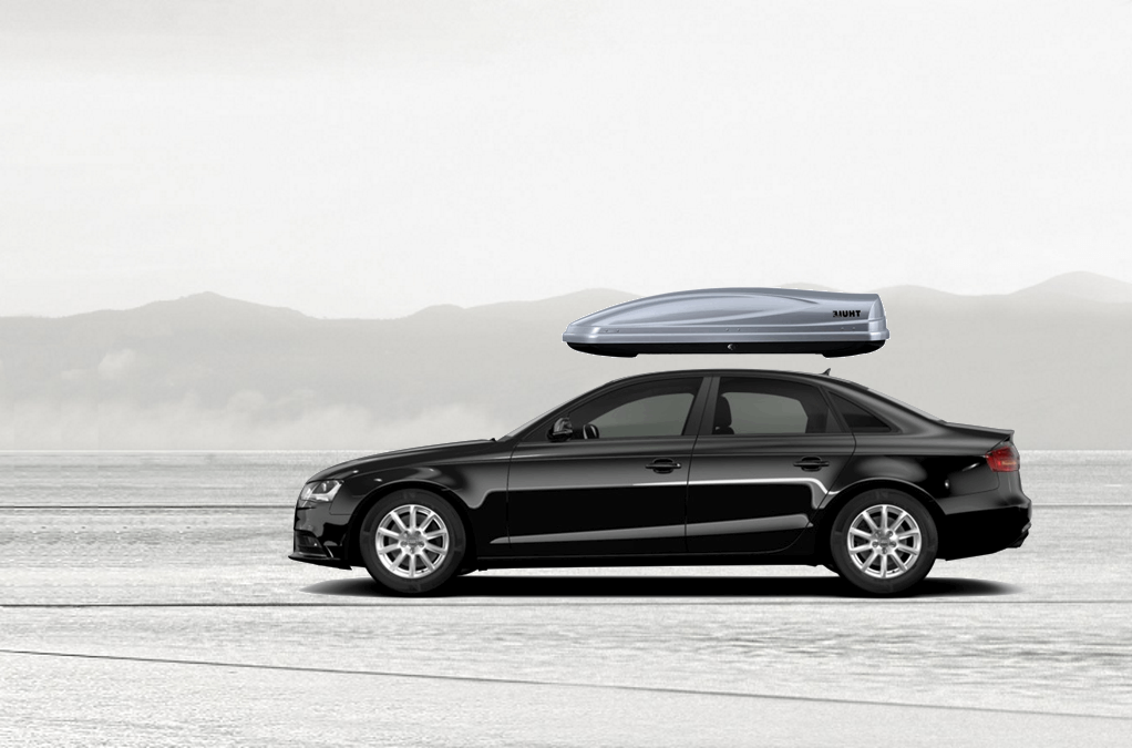 Audi A4 Rooftop Cargo Box